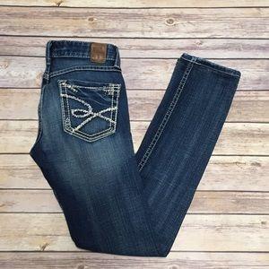 BKE Madison skinny stretch jeans